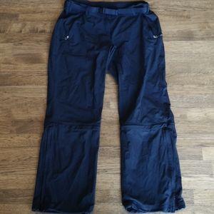 Adidas convertible track pants/crops